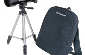 Travel Scope 70 with backpack